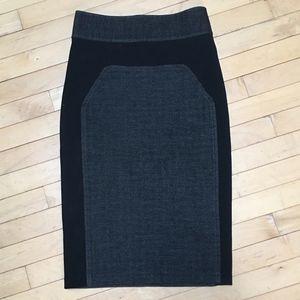 Diane Von Furstenburg Martey wool pencil skirt